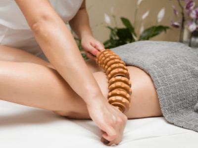 Maderoterapia-masaje